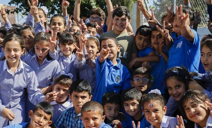 Medio millón de niños y niñas volverán a las escuelas de UNRWA para empezar el curso