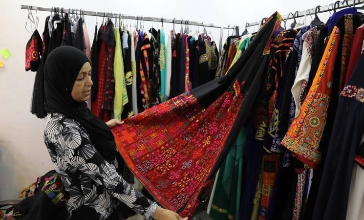 La tradición palestina a través de los bordados de Na'ima