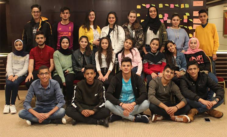 Los alumnos y alumnas de UNRWA eligen el tercer Parlamento Estudiantil de la Agencia