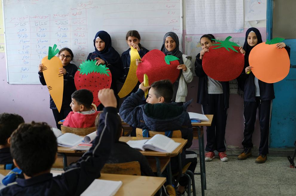 Una vida saludable y un ambiente pacífico: nueva campaña por los buenos hábitos en Líbano